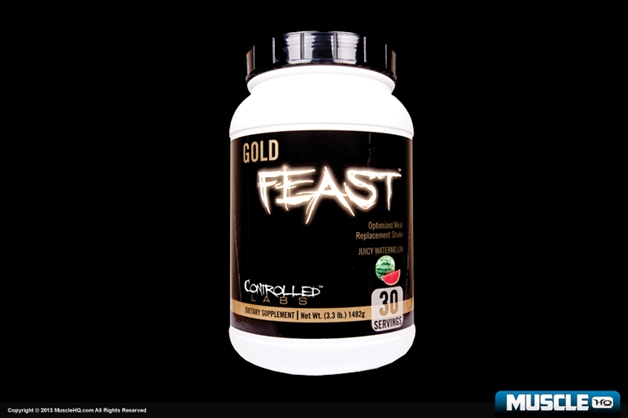 Controlled Labs Gold Feast Optimized Shake - 30 Servings